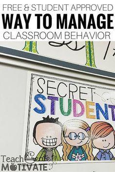 Secret Student- Classroom Management Tool