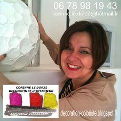 Corinne LE DORZE  Corinne est décoratrice coloriste et a obtenu un certificat d'école privée d'Architecte d'intérieur.  www.decorateur-vannes.com  http://decoration-coloriste.blogspot.fr  http://annuaire-deco.blogspot.fr/2015/05/corinne-le-dorze-decoratrice-coloriste.html