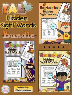 Hidden Sight Words and a Freebie!