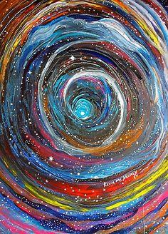 Acrylic Painting Ideas For Beginners Psychedelic Art, Art Bizarre, Art Fractal, Arte Peculiar, Halloween Painting, Art Plastique, Trippy, Art Inspo, Cool Art