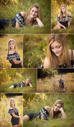 location picture senior grassy romper wedges outfit sunny field girl idea and in Sunny senior girl in grassy field location Romper and wedges senior picture outfit ideaYou can find Senior girl photography and more on our website Senior Girl Photography, Senior Portraits Girl, Senior Girl Poses, Portrait Photography Poses, Photography Poses Women, Senior Posing, Senior Session, Free Photography, Photography Lighting