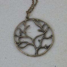 Tree of Life Antique Brass Pendant $18  http://www.etsy.com/listing/90560789/necklace-antique-brass-tree-of-life