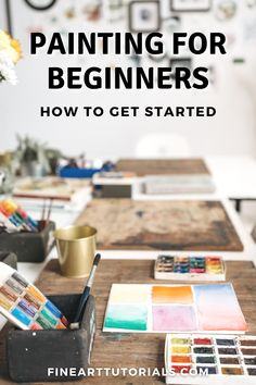 If you feel inspired to paint, but not sure where to start, this tutorial will guide you through everything you need to know to get started. #paintingforbeginners #beginnerart #beginnerpainter #painting #artist #artbeginner #howtopaint #arttutorials #oilpainting #watercolorpainting #acrylicpainting #acrylicart Learn Art, Learn To Draw, Beginner Art, Acrylic Art, Best Artist, Drawing Tips, Art Education, Art Tutorials, Get Started