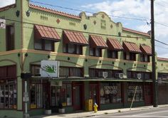 Seminole Heights Antiques--Tampa.  A little mall of antiques, mid-century finds and gently used furniture.