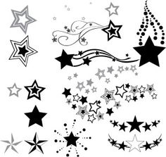 Star tattoos 14