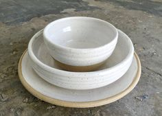 Wedding Dinnerware Registry Dinnerware Ceramic by jclayPottery