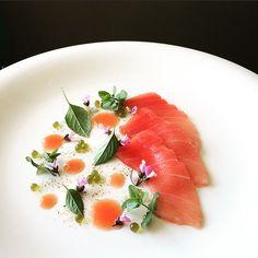 Tuna Sashimi. Chef Tadashi Takayama