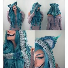 The Cheshire Cat Cosplay ❤ liked on Polyvore featuring costumes, role play costumes, blue halloween costume, cat costume, blue costume and cosplay costumes