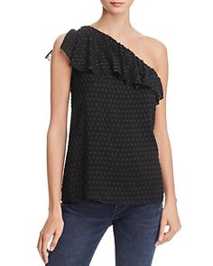 PAIGE SHANDI ONE-SHOULDER TOP. #paige #cloth #