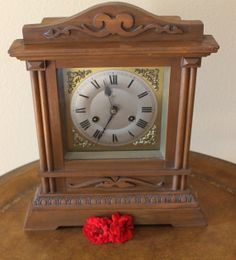 Owen & Son Wooden Mantel Clock