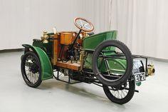 1904 Riley Tricar L'invention de place du Mort !!!