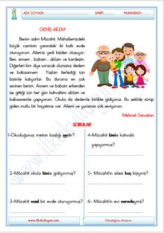 Learn Turkish Language, Picture Composition, Special Education, Preschool, Learning, Turkish People, Kid Garden, Studying, Teaching