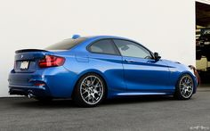 Estoril Blue M235i Gets Transformed - BBS and M Performance Parts - 2Addicts | BMW 2-Series forum