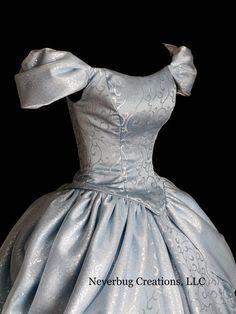 Cinderella New Parks Custom Costume NOTE: NEW FABRIC