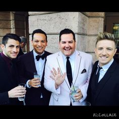 "57 Likes, 5 Comments - Chris Meyer (@meyerflies) on Instagram: ""Great meeting Ross Mathews and his partner! @helloross @stylistsalvador @billy__gilman"""