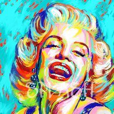 57 New Ideas Pop Art Painting Vintage Marilyn Monroe Pop Art Marilyn Monroe, Marilyn Monroe Dibujo, Fantasy Art Men, Fantasy Kunst, Large Canvas Art, Diy Canvas Art, Cuadros Pop Art, Art Deco Tattoo, Modern Art Paintings