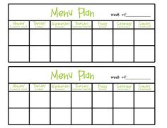 How To Menu Plan And Printable Menu Planner  Modern Christian