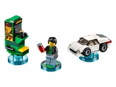 Go retro with the LEGO® DIMENSIONS™ Midway Arcade™ Level Pack!