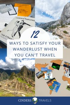 These are things you can do when you cannot travel. Travel Movies, Travel Books, Virtual Travel, Thing 1, Travel Guides, Travel Tips, Wanderlust Travel, European Travel, Solo Travel