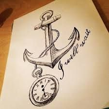 how to draw a anchor - Google Search