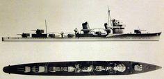 IJN Destroyer Fubuki 1938