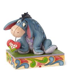 Look what I found on #zulily! Eeyore Personality Pose Figurine #zulilyfinds