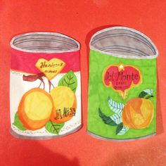 """The man from del monte. Who was he?"" Fantastic fruit can #illustrations by the amazing Monika Forsberg #illustratedfood"