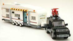 LEGO INSTRUCTIONS large camper quad bunk super slide trailer SUV/truck  NO BRICK