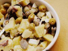 Ensalada de habas y compañía: receta con fotos del PASO a PASO... (el haba es…