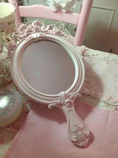 Espejo de mano vintage
