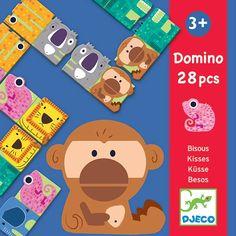 #Djeco - domino - Kusjes - jungle dieren - puzzel +3jr  #littlethingz