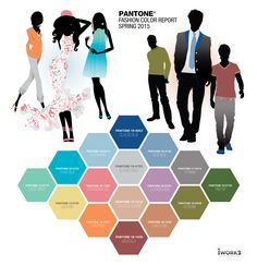 Pale Pastels + Cool Hues for Spring 2015 = En Plein Air (In the Open Air) Top (10) Women's and Men's Colors Colorful pastel is in for women this Spring/Summer 2015. The bolder colors in the palette...