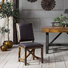 This INK+IVY Lancaster faux-leather dining chair is both modern and industrial, offering a stylish look that's sure to enhance any kitchen or dining room space. Woven Dining Chairs, Faux Leather Dining Chairs, Mismatched Dining Chairs, Upholstered Dining Chairs, Dining Room Bar, Kitchen Chairs, Dining Table, Chair Types, Bar Furniture