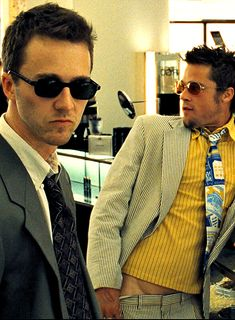 «Tyler sold his soap to department stores at $20 a bar. Lord knows what they charged. It was beautiful. We were selling rich women their own fat asses back to them…» ~ #FightClub