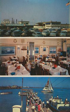 Starn's Restaurant and Boating Center - Atlantic City, New Jersey Old Pictures, Old Photos, Margate Nj, Great Places, Places To Go, Vacation Days, Used Boats, Seaside Towns, Sport Fishing