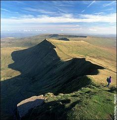Brecon Beacons - this is near Cardiff, its a beautiful mountain range