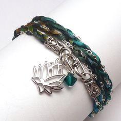 Wrap Bracelet $34.00 #jewelry #handmade