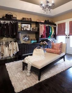 Turn spare bedroom into dressing room