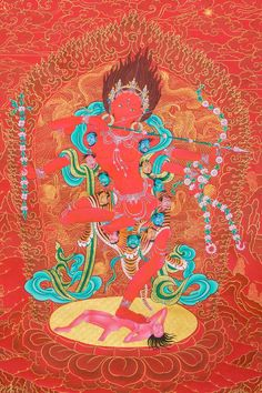 Kurukulle (Fine Art Print) - Images Of Enlightenment ~ Dakini As Art
