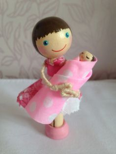 For Cathy. Congratulations on the birth of your baby girl!  From The Sugar Plum Workshop Find us on Facebpok