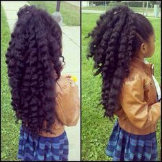***Try Hair Trigger Growth Elixir*** ========================= {Grow Lust Worthy Hair FASTER Naturally with Hair Trigger} ========================= Go To: www.HairTriggerr.com ========================= Dang!!! This Lil one is BLESSED with a THICK FULL mane of hair at a young age!!! LOVE IT!!!