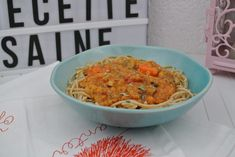 Bolognaise Végétarienne – Goonora Spaghetti, Ethnic Recipes, Blog, Going Vegetarian, Bolognese, Healthy, Noodle