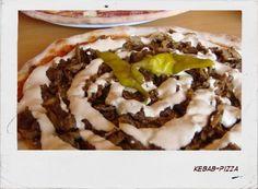 Kebab pizza...must make when McKenna comes home.