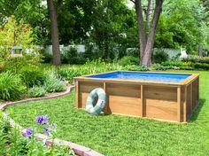 Dites adieu à la piscine en plastique peu sécurisée pour la baignade des enfants et qui fait...