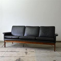 beat up sofa