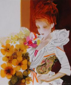 Joel Rougie 1957 | French Fashion painter | Tutt'Art@ | Pittura * Scultura * Poesia * Musica |