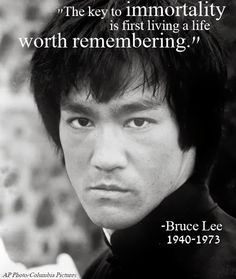 Bruce Lee died 40 years ago today. But we'd say he achieved immortality. http://www.legacy.com/ns/news-story.aspx?t=born-a-dragon=1434