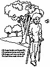 Coloring pages, including a decent Christian section. I particularly love this first coloring page which not only shares Christian values, but also handicap awareness.