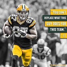 Jordy will be sorely missed this season.