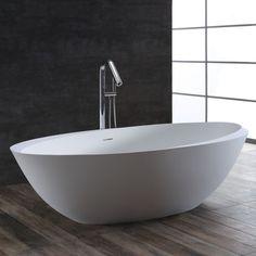 Scandinavian Home, Bathroom Inspiration, Pop Up, Bathtub, Home And Garden, Stone, Interior, Design, Bathrooms